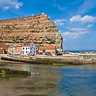 Staithes. by John (Mike)  Dobson