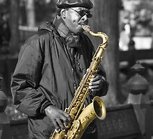 Sax In The Park by AJM Photography