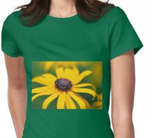 Yellow Rays Womens Fitted T-Shirt