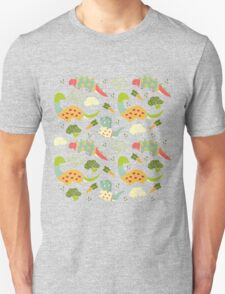 Eat Your Veggies in Brights Unisex T-Shirt