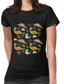 Eat Your Veggies in Brights Womens Fitted T-Shirt