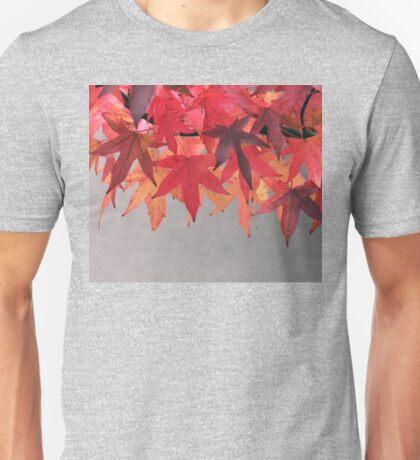 Autum Leaves Unisex T-Shirt