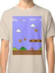 MARIO - WORLD 1-1 Classic T-Shirt