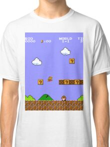 MARIO - WORLD 1-1 Classic T-Shirt