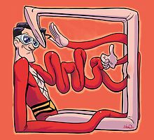 Plastic Man 1990s JLA by downersteve