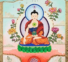 Healing Buddha - Kundalini Attaining Enlightenment  by Adriana Barone