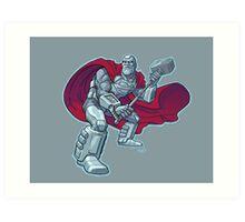 Steel 1990s JLA Art Print