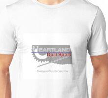 Heartland Dual Sport on White Unisex T-Shirt