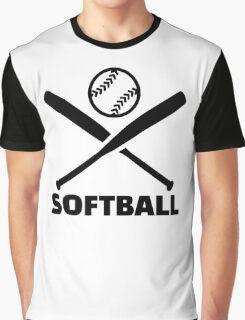 Softball Graphic T-Shirt