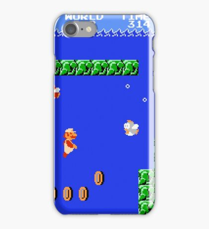 MARIO - WORLD 2-2 iPhone Case/Skin