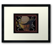 cowboy of death (marlboro man) Framed Print