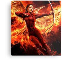 Mocking Jay - Hunger Games Metal Print