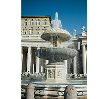 Roman Fountain Photographic Print