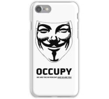 Guy Fawkes - Occupy iPhone Case/Skin