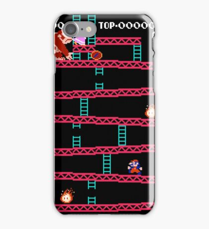 MARIO - VS DONKEYKONG iPhone Case/Skin