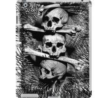 Skull, Metal, Rock, Dark iPad Case/Skin