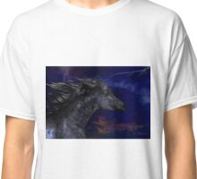 The Dark .. a stallions birth Classic T-Shirt