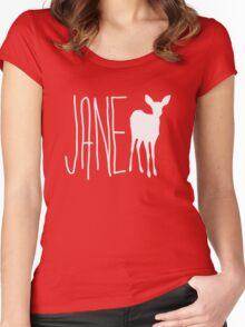 Jane doe - Life is strange Women's Fitted Scoop T-Shirt