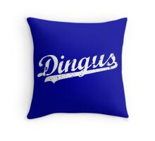 L.A. Dingus - The Blue Crew (White) Throw Pillow