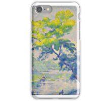 Henri Edmond Cross - Benting Tree,  iPhone Case/Skin