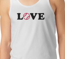 Softball love Tank Top