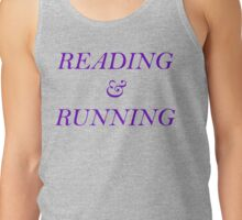 Reading and Running - Purple Tank Top