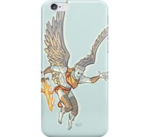 Zauriel Host 1990s JLA iPhone Case/Skin