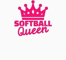 Softball queen Womens Fitted T-Shirt