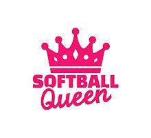 Softball queen Photographic Print