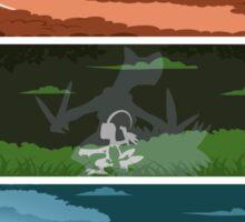 Pokemon Starters - Hoenn Sticker