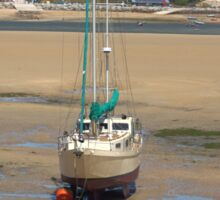 Low Tide At Padstow Sticker
