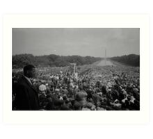 Civil Rights March on Washington August 28th 1963 Art Print