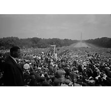 Civil Rights March on Washington August 28th 1963 Photographic Print