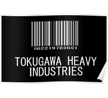 Tokugawa Heavy Industries (White) (Metal Gear) Poster