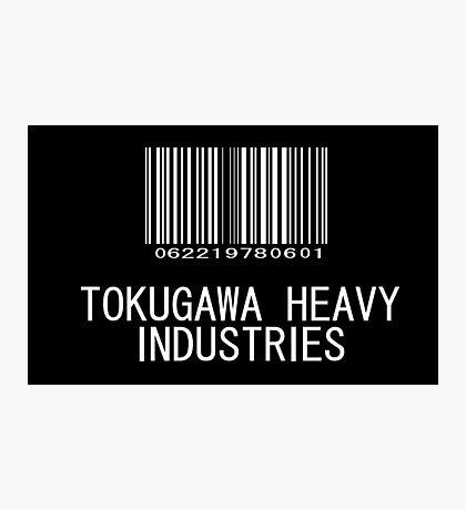 Tokugawa Heavy Industries (White) (Metal Gear) Photographic Print