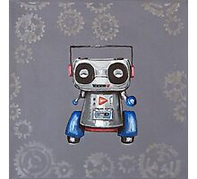 Robot Boomer Photographic Print
