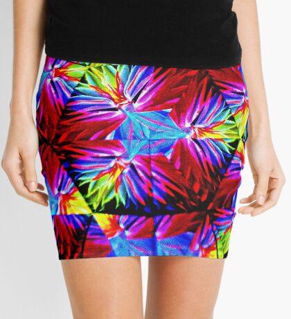 Fan Mix Mini Skirt
