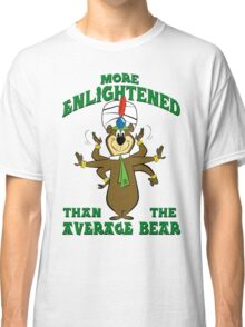 Yogi Bear - More Enlightened Than The Average Bear Classic T-Shirt