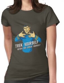 Trek Yourself Womens Fitted T-Shirt