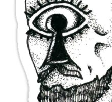 The Keyhole Eye Sticker