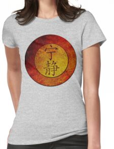 Serenity Symbol Womens Fitted T-Shirt