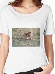 Lost ... on the way to school  Women's Relaxed Fit T-Shirt