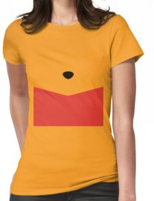 Rumbly in my Tummy Womens Fitted T-Shirt