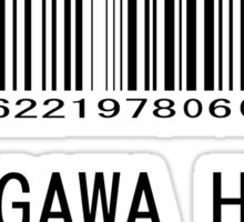 Tokugawa Heavy Industries (Black) (Metal Gear) Sticker