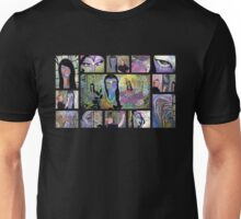 Chalk Meditation #13 Montage (June 2007) Unisex T-Shirt