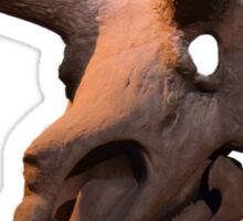 Triceratops dinosaur skull Sticker