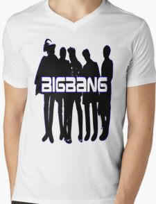 ♥♫Love BigBang Cool K-Pop Clothes & Phone/iPad/Laptop/MackBook Cases/Skins & Bags & Home Decor & Stationary♪♥ Mens V-Neck T-Shirt