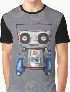 Robot Boomer Graphic T-Shirt