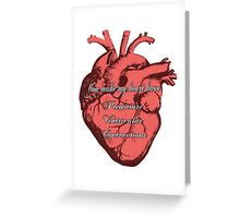 You Make My Heart PVC Greeting Card
