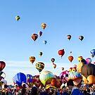 Balloon Ascension by Ray Chiarello